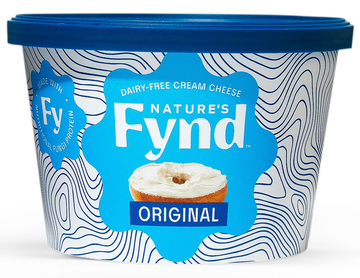Nature's Fynd Dairy-Free Original Cream Cheese packaging.
